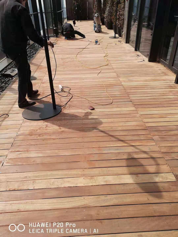 上海宝格丽酒店-户外地板翻新项目 采用意大利Vermeister户外系统