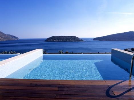 Hotel Blue Palace Creta - Grecia  Deck.Oil