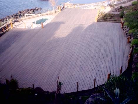 Solarium Alle falde del Vesuvio Napoli – Italy  Deck Oil Strong