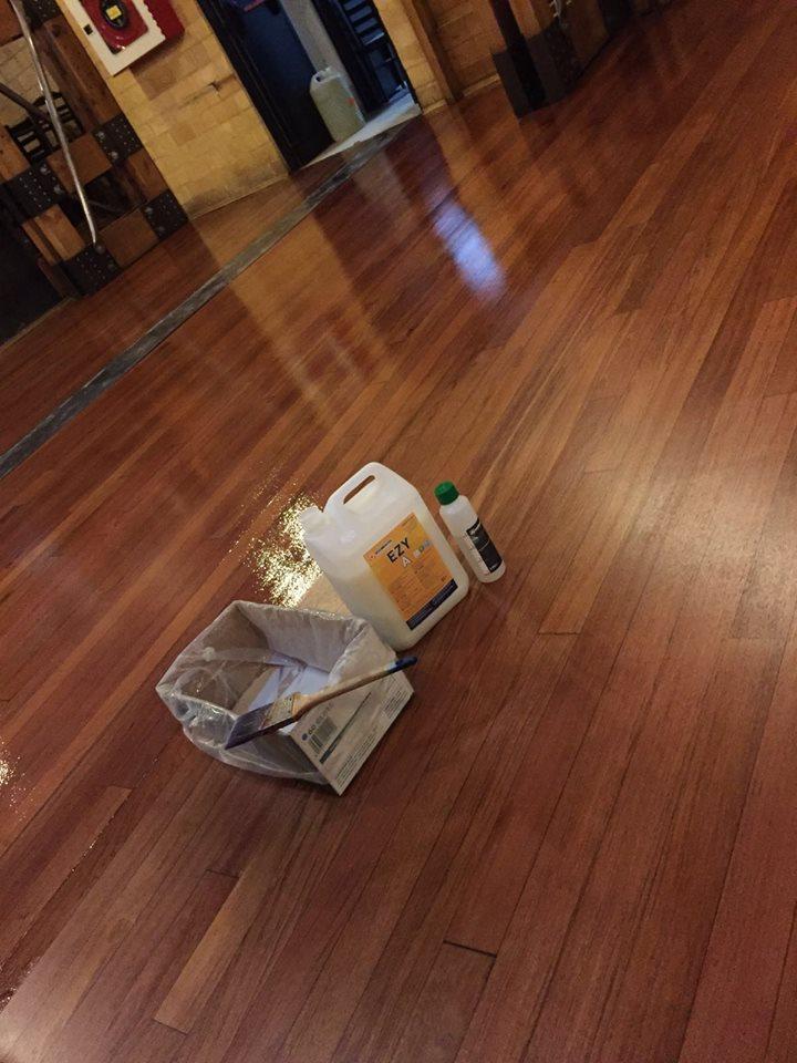 家庭木地板翻新案例